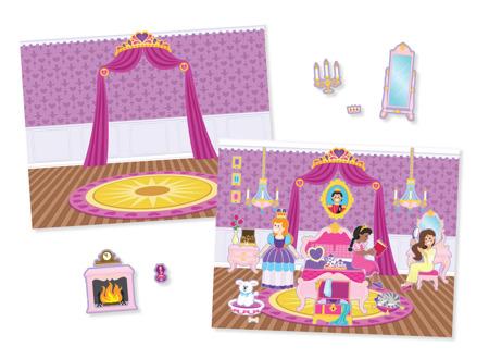 Wielorazowe Naklejki Zamek Księżniczki  Melissa and Doug 14306