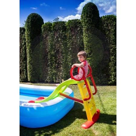 Zjeżdżalnia Sunny 180 cm z Natryskiem Wodnym Ślizg Wodny WOOPIE